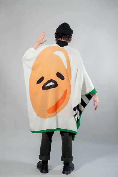 All Over Reversible Poncho // Gudetama Special Edition