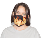Burn Fire Mask