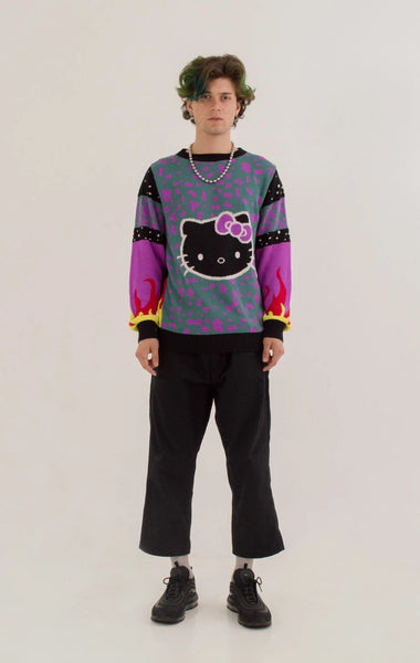 Kitty Flames Sweater // Hello Kitty Special Edition
