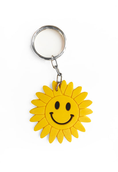 Happy Flower Keychain