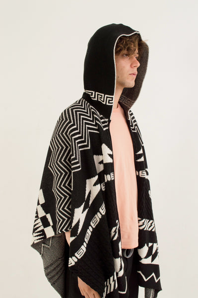 STRIKE HOODED PONCHO