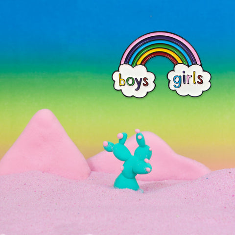 boys & girls pin