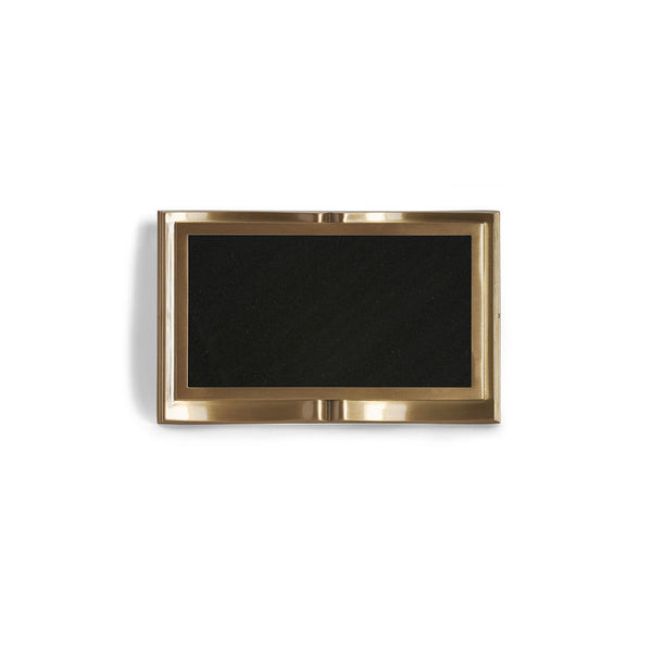 Book E-Z Plaque - Global Bronze