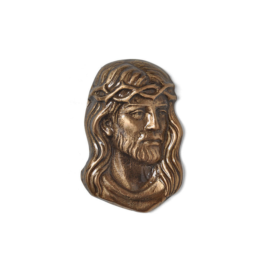 Christ Head Emblem - Global Bronze