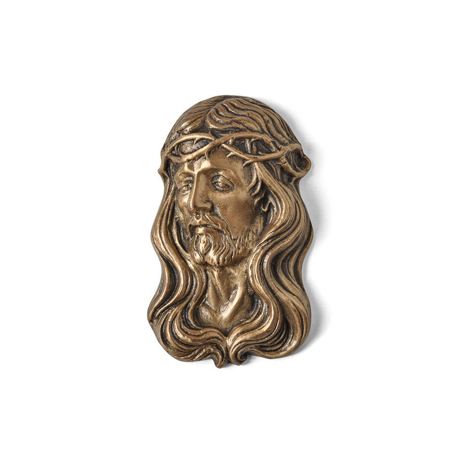 Christ With Crown of Thorns Emblem - Global Bronze