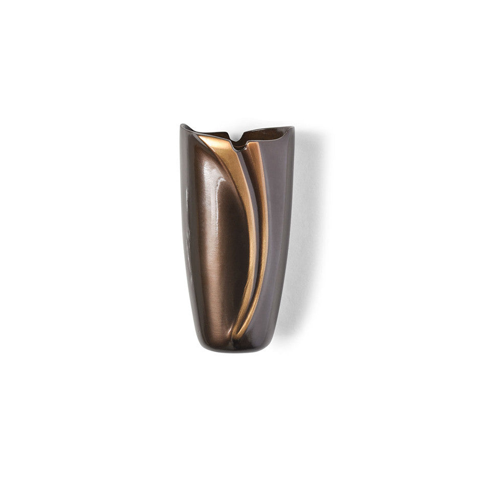 Comma Vase w/ Frascio Finish - Global Bronze