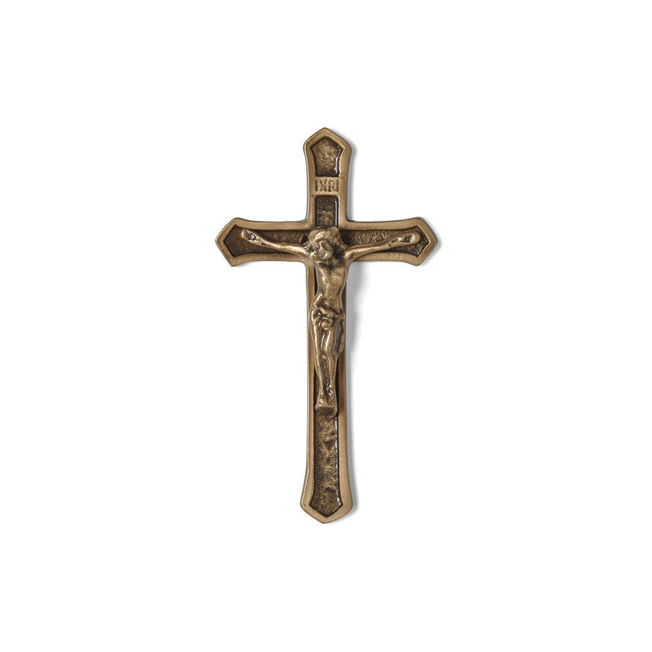 Crucifix Emblem - Global Bronze