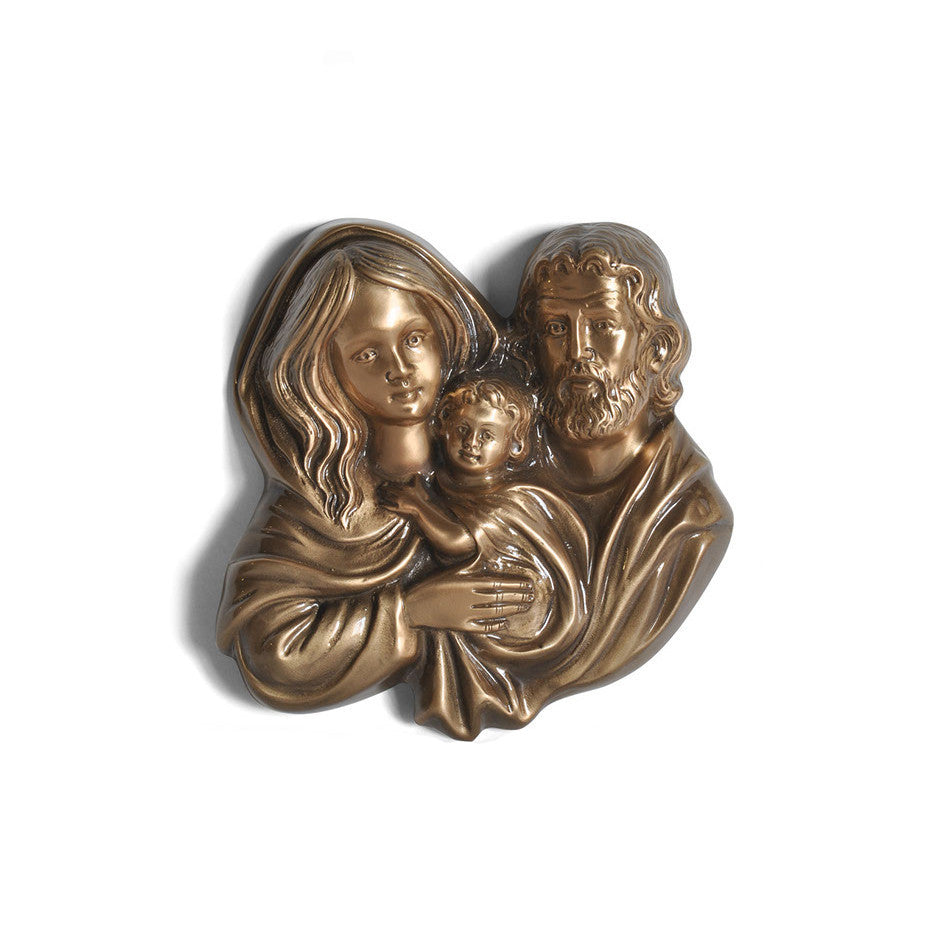 Holy Family Emblem - Global Bronze