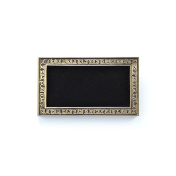 Greek E-Z Plaque - Global Bronze