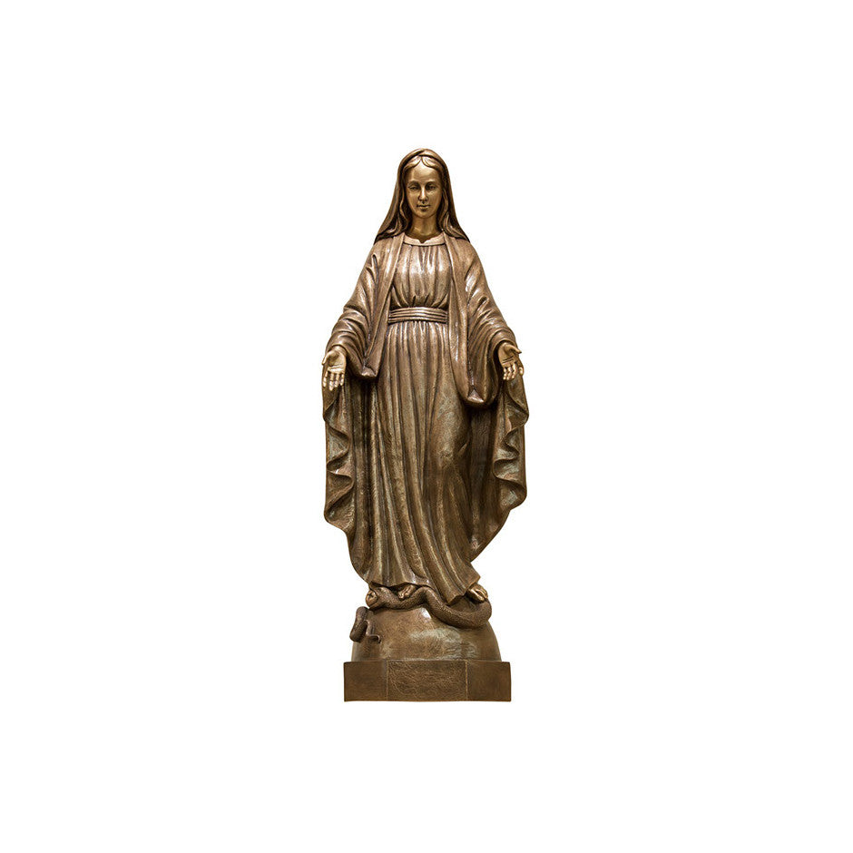 Immaculate Conception Relief - Global Bronze