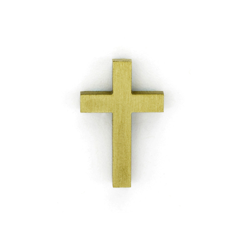 Latin Cross Emblem - Global Bronze