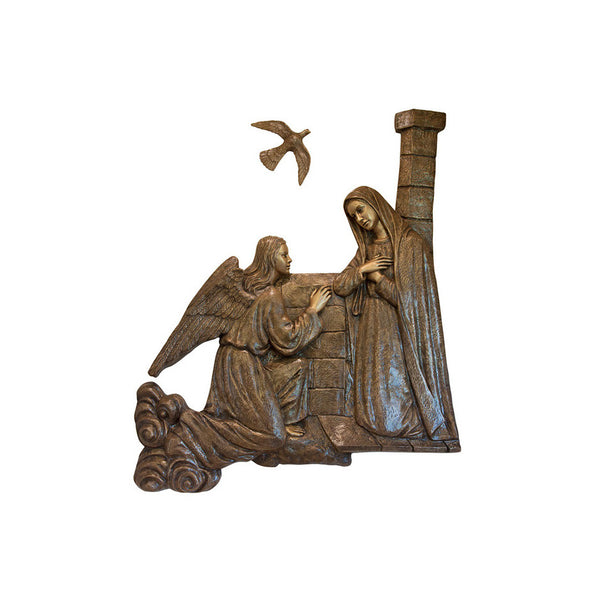 Life of Christ Relief - Annunciation - Global Bronze
