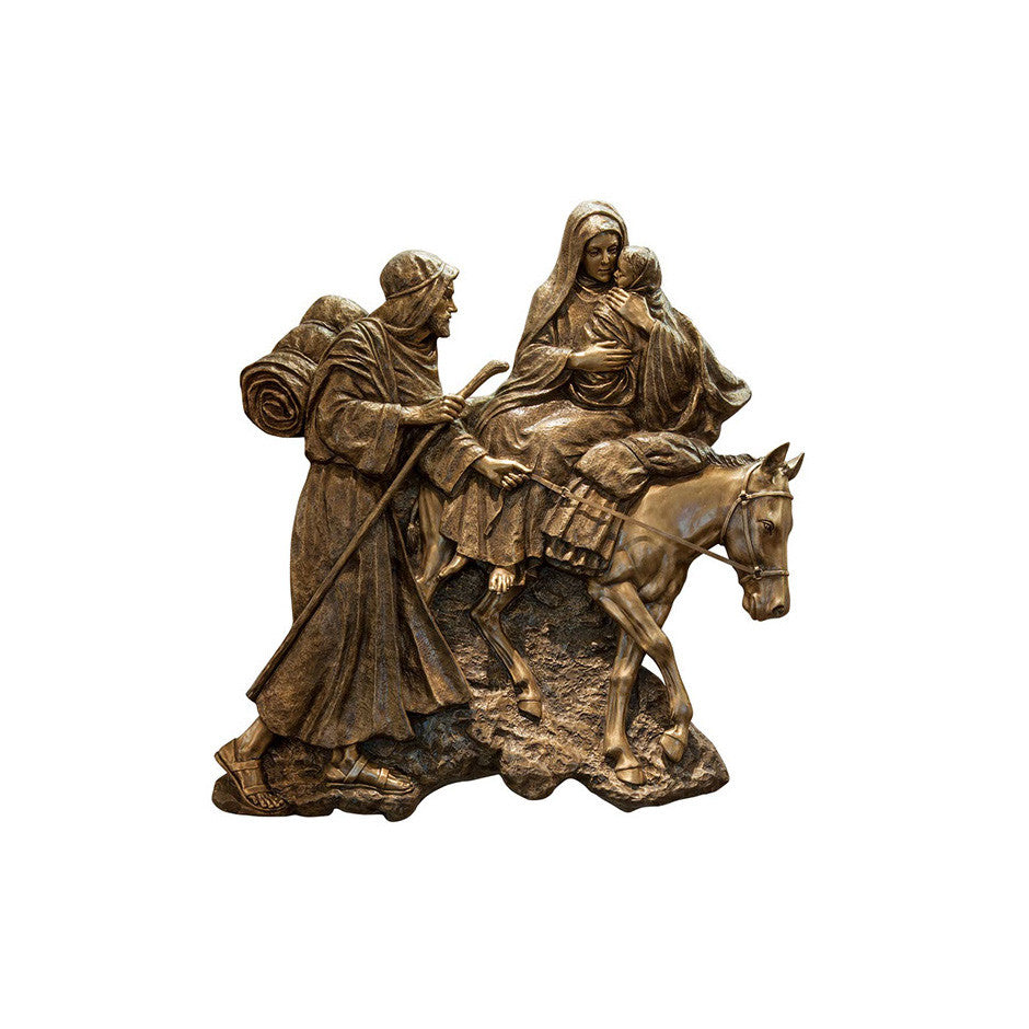 Life of Christ Relief - Flight to Egypt - Global Bronze