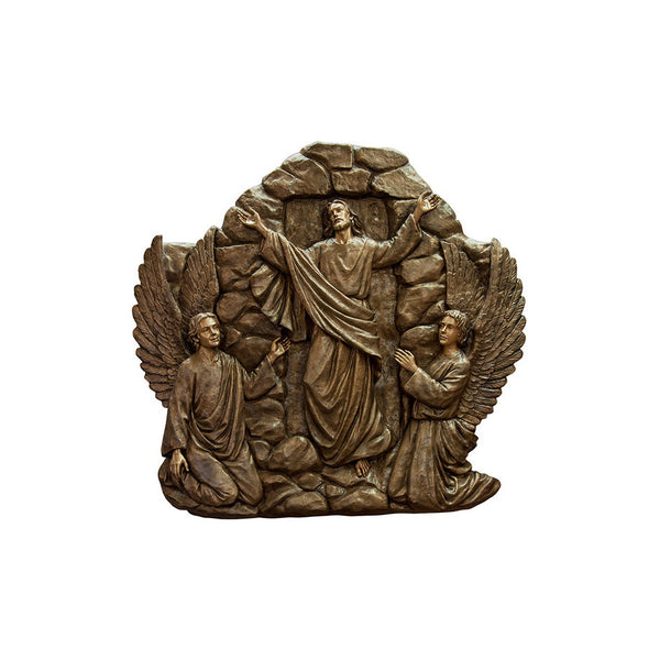 Life of Christ Relief - Resurrection of Jesus - Global Bronze