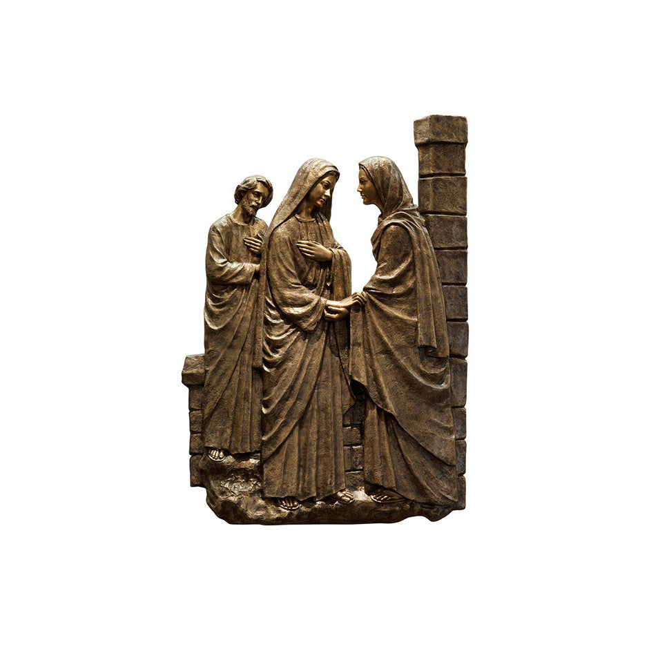 Life of Christ Relief - Visitation - Global Bronze