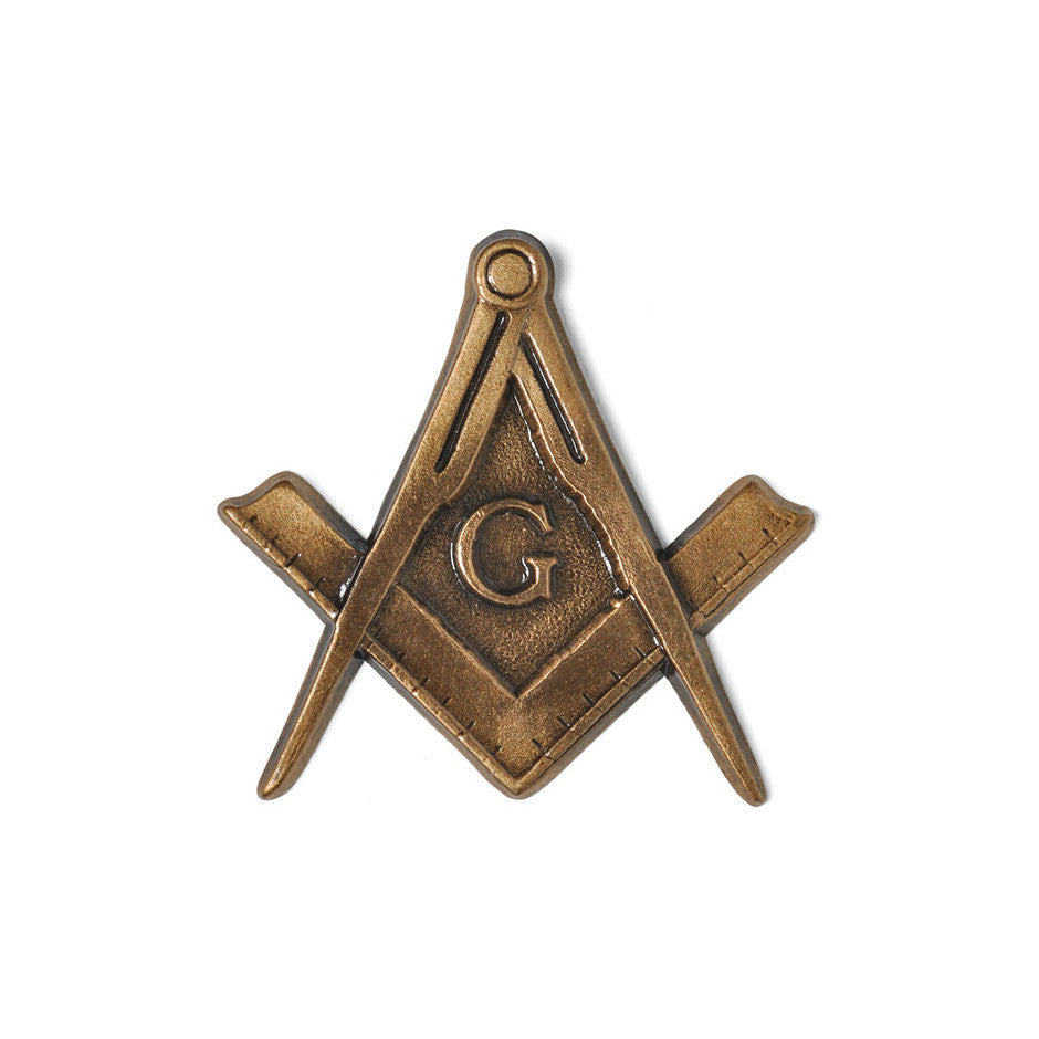 Masonic Crest Emblem - Global Bronze