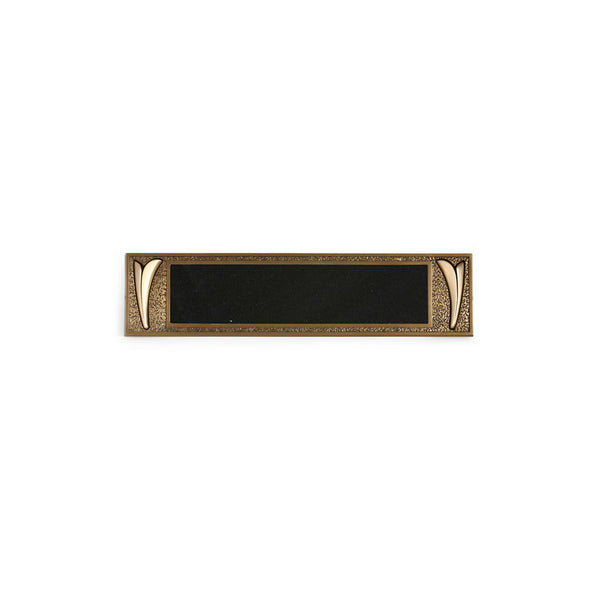 Simplicity E-Z Plaque - Global Bronze - 1
