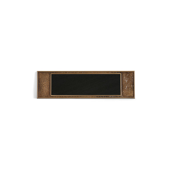 Simplicity E-Z Plaque (Milano) - Global Bronze