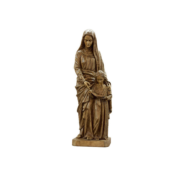 St. Anne with Child Statue - Global Bronze