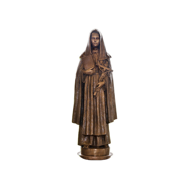 St. Catherine of Siena Statue - Global Bronze