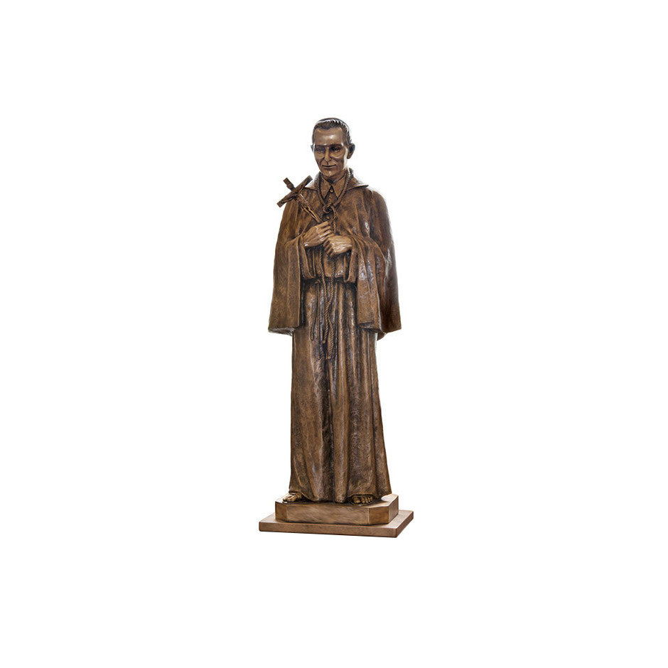 St. Charles Borromeo Statue - Global Bronze