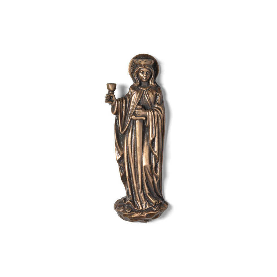 St. Barbara Emblem - Global Bronze