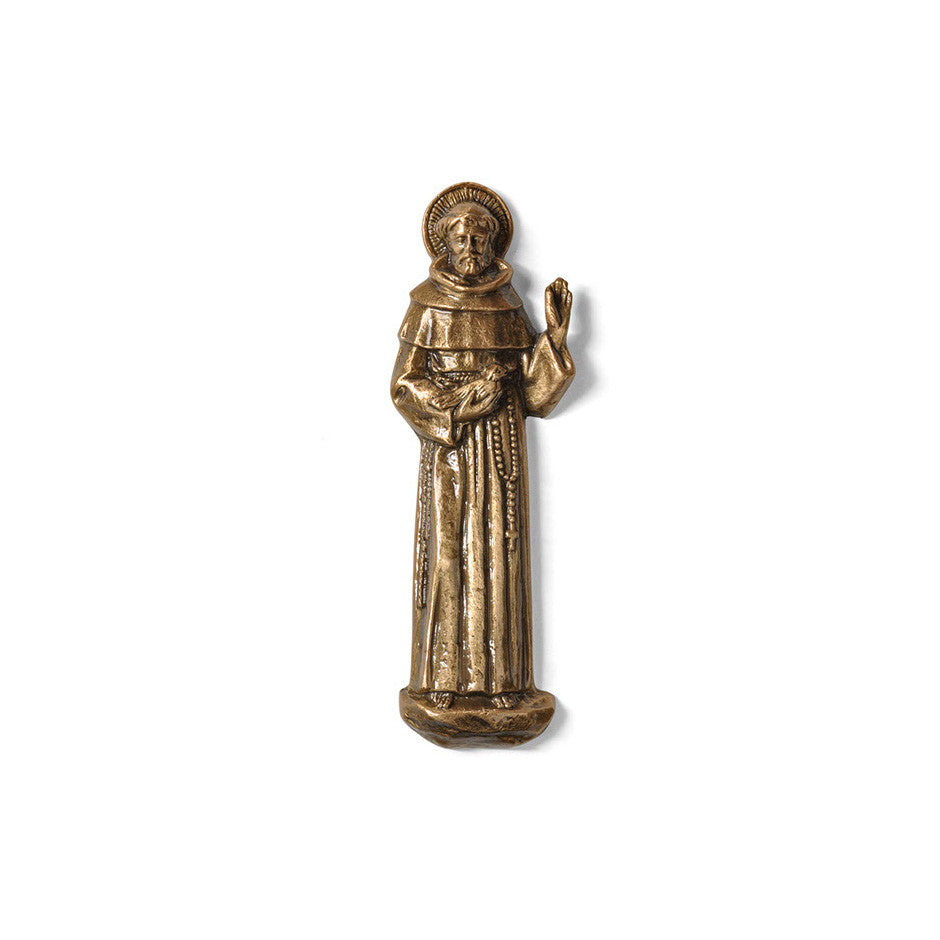 St. Francis With Dove Emblem - Global Bronze