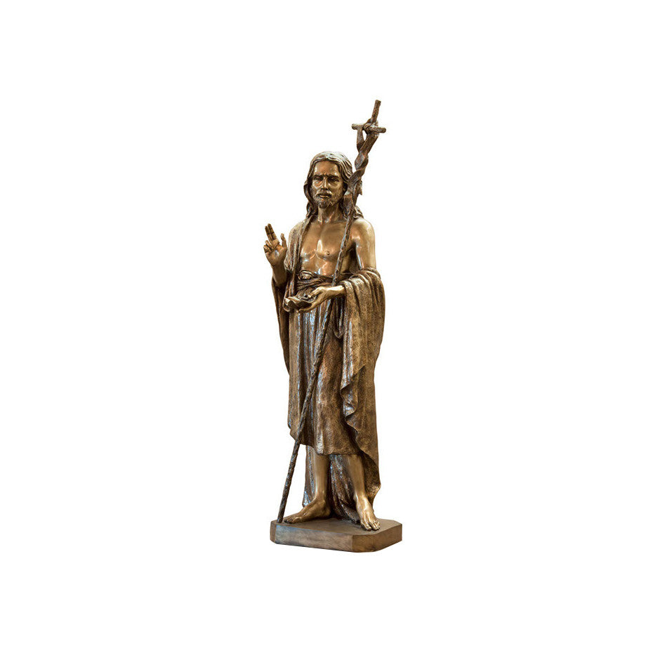 St. John Baptist Statue - Global Bronze