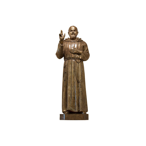 St. Padre Pio of Pietrelcina Relief - Global Bronze
