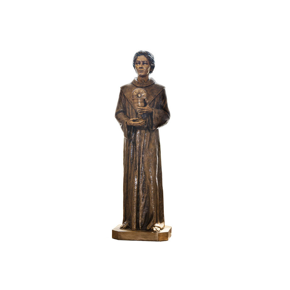 St. Paschal Baylon Statue - Global Bronze