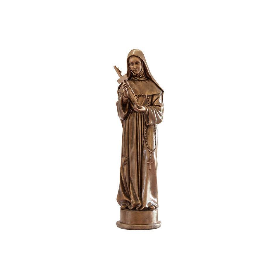 St. Rita Statue - Global Bronze