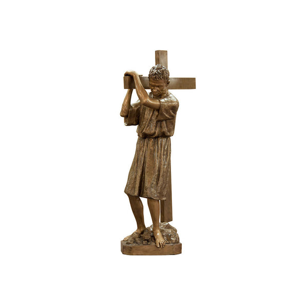St. Simon of Cyrene Statue - Global Bronze