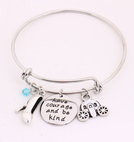 """Have courage and be kind"" Bracelet"