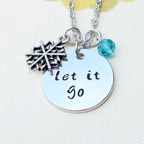 """let it go"" Necklace"