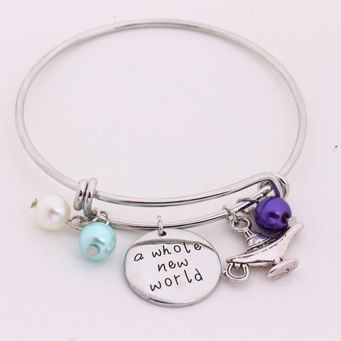 """A Whole New World"" Charm Bracelet"