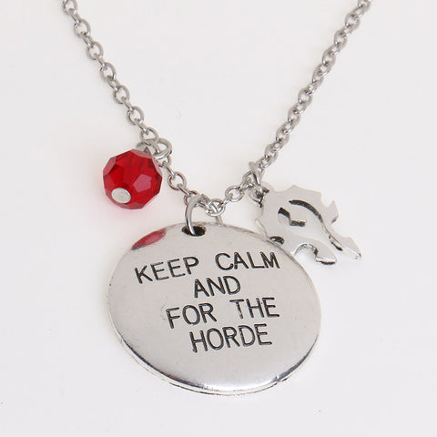 """For the horde"" Necklace"