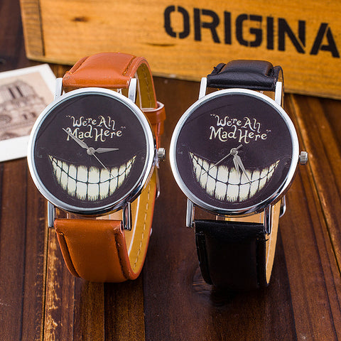"""Mad Here"" Wristwatch"