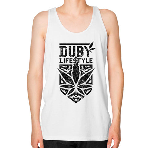 Duby Lifestyle Male Tank White Duby Swag Shop