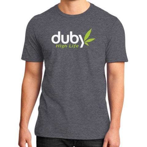 High Life Tee Heather charcoal Duby Swag Shop