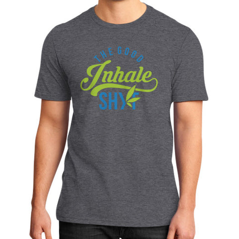 Men's Inhale Tee Heather charcoal Duby Swag Shop