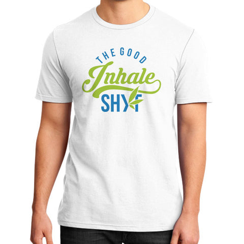 Men's Inhale Tee White Duby Swag Shop