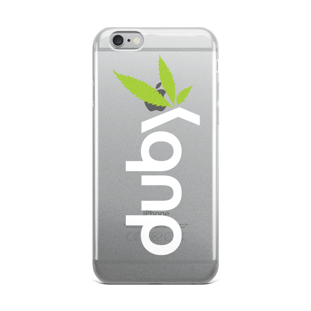 Duby White iPhone Case
