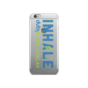 Inhale iPhone Case