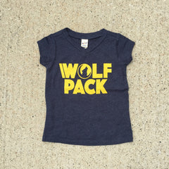 Wolf Pack • Navy Tee
