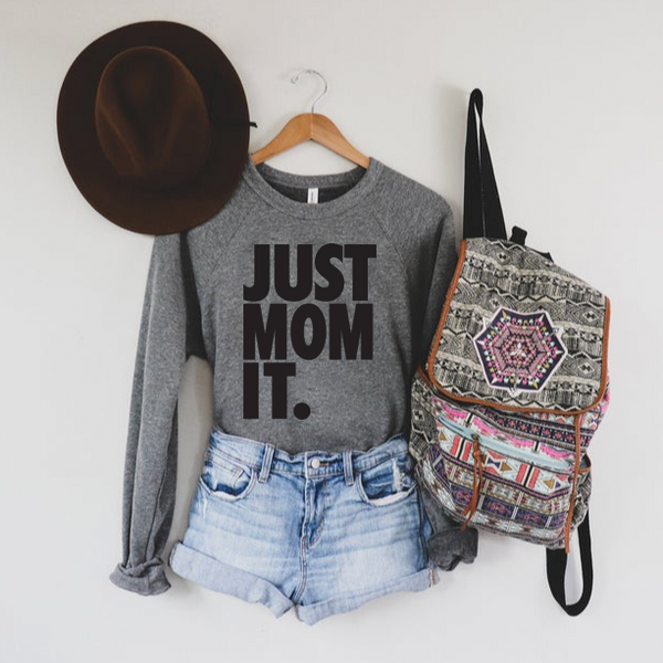 Just Mom It • Heather Pullover