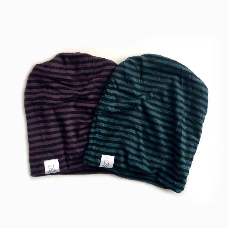 Striped Fall Beanie