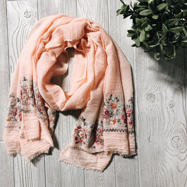 Blush • Womens Scarves