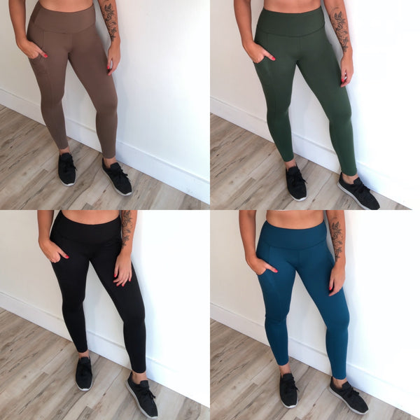 Perfect Pocket Leggings • More Colors!