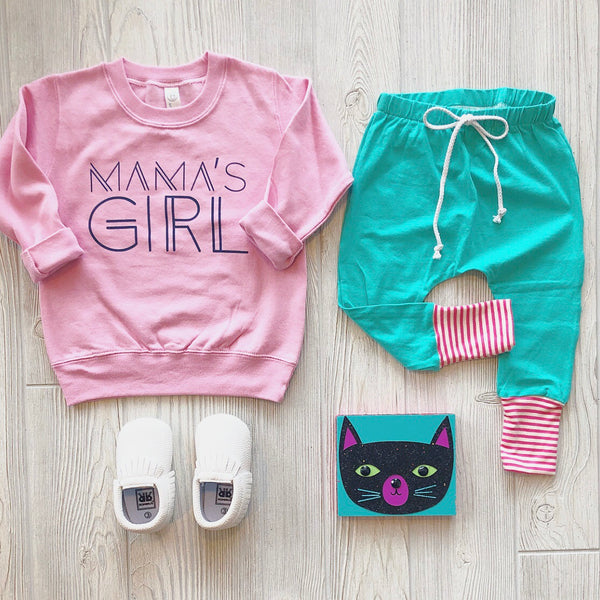 Mama's Girl Pullover • Light Pink
