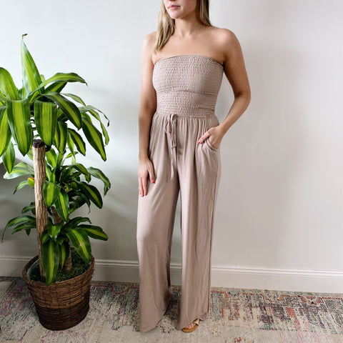 Ruched Jumpsuit • More Colors!